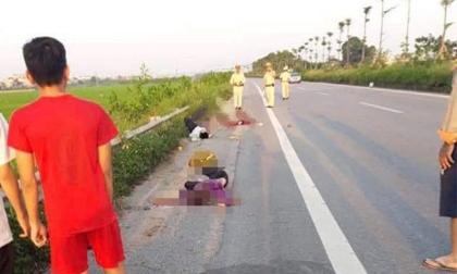 4 người cùng gia đình thương vong sau tai nạn xe máy