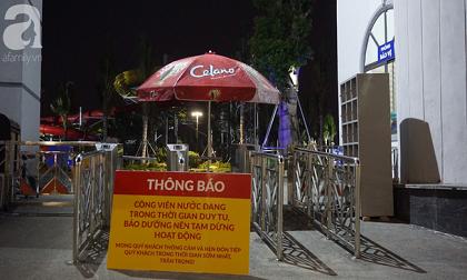 Công viên nước Thanh Hà lại treo biển tạm dừng hoạt động sau vụ bé trai 6 tuổi chết đuối