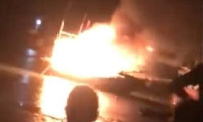 Tìm thấy thi thể nạn nhân mất tích trong vụ nổ tàu cá ở Thanh Hóa