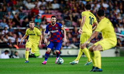 Chưa kịp mừng danh hiệu 'The Best' bằng đường kiến tạo góp công giúp Barcelona thắng trận, Messi phải rời sân trong nỗi thất vọng thế này đây