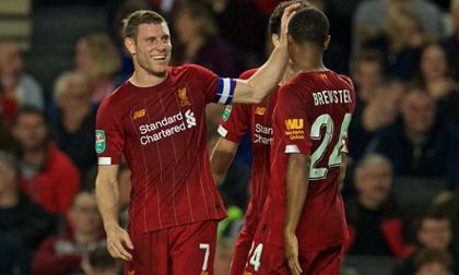 Milner thăng hoa, Liverpool thắng nhẹ đội hạng 3