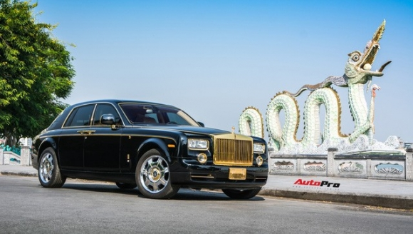 Khám phá Rolls-Royce Phantom độ phiên bản rồng, mạ vàng giá 15 tỷ tại Hà Nội - 2