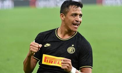 Sanchez nổ súng rồi nhận thẻ đỏ trong lần đầu đá chính, Inter duy trì mạch toàn thắng