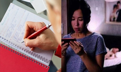 Vợ cứ 'đến tháng' là chồng note vào giấy, tưởng chồng quan tâm ai ngờ để phục vụ cho âm mưu bỉ ổi