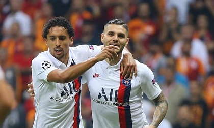Icardi 'mở tài khoản' giúp PSG giữ mạch toàn thắng
