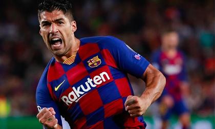 Suarez lập cú đúp siêu phẩm, Barca khiến Inter Milan nhận thất bại đầu tiên