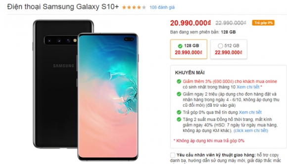 """Top smartphone giảm giá """"sốc"""" tuần này - 2"""