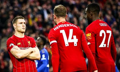 Milner ghi bàn ở phút bù giờ thứ 4, Liverpool thắng nghẹt thở Leicester