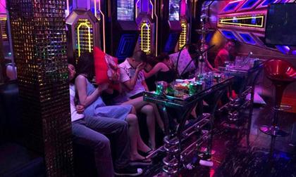 34 thanh niên phê ma túy trong quán karaoke Luxury