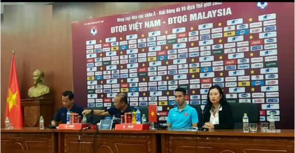 HLV Park Hang Seo: 'Chúng ta sẽ thắng Malaysia'