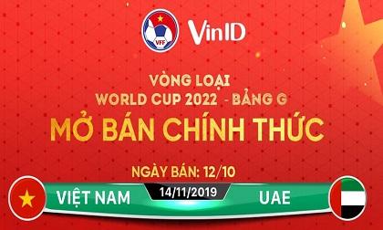 VFF công bố kế hoạch bán vé 3 trận của ĐT Việt Nam trên sân Mỹ Đình