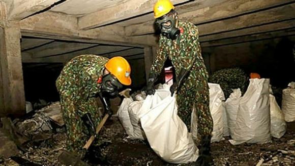 Vụ cháy Công ty Rạng Đông: Toàn bộ phế thải nguy hại được đưa về nơi xử lý an toàn