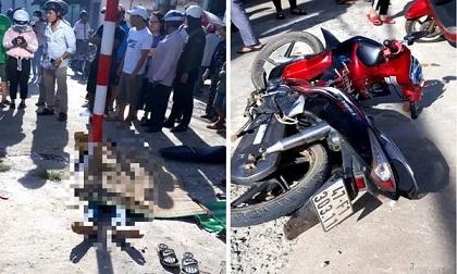 Thanh niên say xỉn chở bạn gái lao vỉa hè tử vong tại chỗ