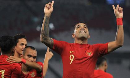 Loại hàng loạt ngôi sao, ĐT Indonesia chỉ gọi 2 cầu thủ nhập tịch đấu Việt Nam
