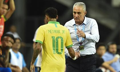 Brazil hòa nhạt trong ngày Neymar chấn thương