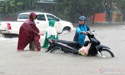 Dự báo thời tiết 17/10, miền Trung mưa to, nguy cơ ngập lụt nhiều nơi