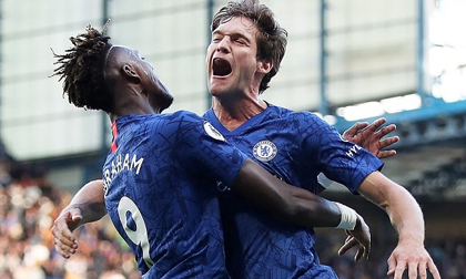 Alonso ghi bàn muộn giúp Chelsea vào Top 3