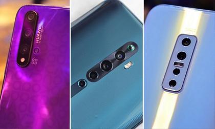'Đọ dáng' 3 smartphone tầm giá 9 triệu, có 4 camera sau, 'sống ảo' tuyệt đỉnh