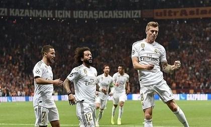 Kroos nổ súng, Real thoát hiểm trên sân Galatasaray