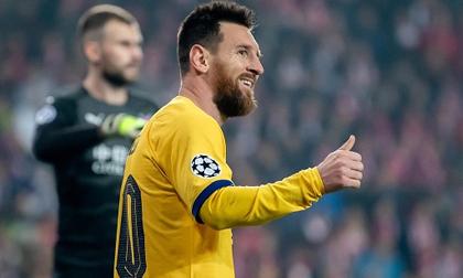 Messi nổ súng, Barca thắng nhọc trên sân khách