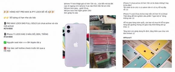 iPhone 11 khóa mạng giá dưới 13 triệu gây bão thị trường - 1