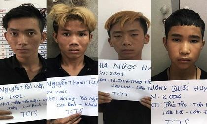 Băng bụi đời trộm tài sản khách du lịch nước ngoài sa lưới