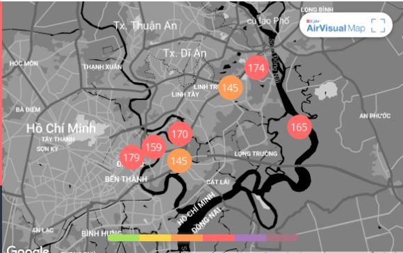 Ô nhiễm không khí Hà Nội và TP. HCM tiếp tục vượt ngưỡng đỏ sau hai ngày ở mức an toàn - Ảnh 3.