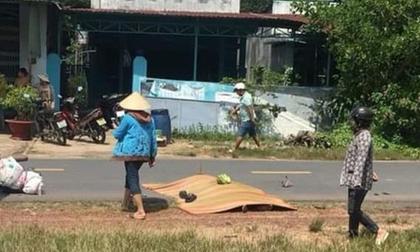 Bình Dương: Chạy xe máy tông trúng bò thả rông, chồng chết, vợ nguy kịch