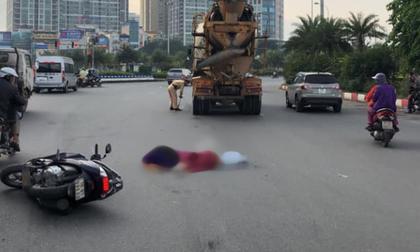 Hà Nội: Va chạm với xe bồn vào giờ cao điểm, 2 người phụ nữ tử vong tại chỗ