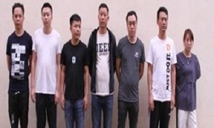 Nhóm người Trung Quốc hùn vốn thiết lập đường dây đánh bạc qua mạng
