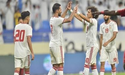 Giá trị đội hình ĐT UAE cao gấp hơn 9 lần ĐT Việt Nam