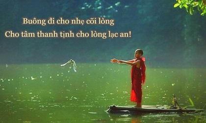 """Muốn sống thanh thản, cuộc đời bình an, chỉ cần """"vứt"""" đi 3 thứ"""