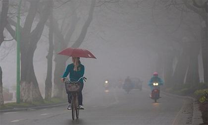 Dự báo thời tiết ngày 19/12: Ảnh hưởng của không khí lạnh, Bắc Bộ chuyển mưa rét