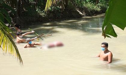 Diễn biến gây sốc vụ phát hiện người phụ nữ bị giết dìm dưới ao nước, hai chân bị trói