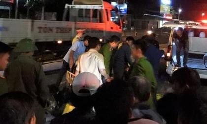 2 thiếu úy công an gặp tai nạn trên đường nhận công tác, 1 người tử vong, 1 nguy kịch