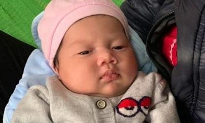 Bé gái hơn một tháng tuổi bị bỏ rơi trước cổng chùa dưới trời rét buốt
