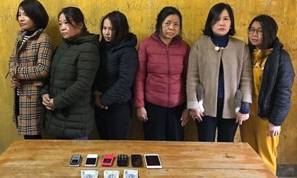 Triệt phá đường dây lô đề quy mô là nữ giới tại Hà Tĩnh