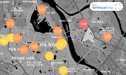 Chất lượng không khí ngày 3/1: Hà Nội hiếm hoi trở về mức bình thường