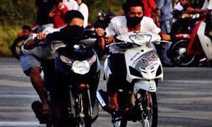 Trung úy cảnh sát bị nhóm đua xe tông tử vong