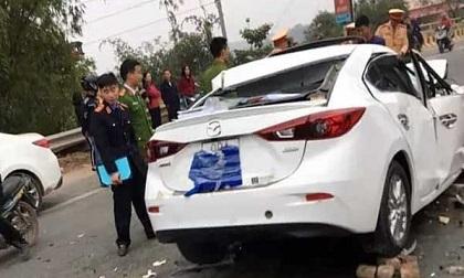 Gây tai nạn rồi bỏ chạy, nam tài xế Mazda tông vào xe ben tử vong