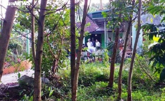 Ngôi nhà xảy ra vụ việc. Ảnh: VTC News