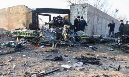 Iran công bố nguyên nhân máy bay Ukraine rơi