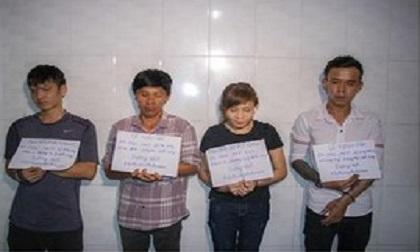 Người phụ nữ say ma túy trong phòng trọ cùng 3 nam thanh niên