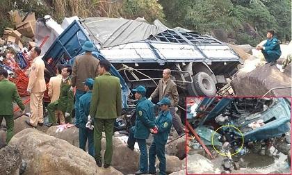 Ô tô tải lao xuống vực khiến 3 người tử vong
