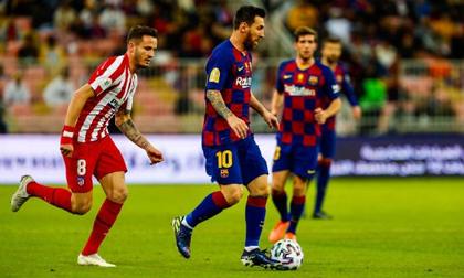 Messi ghi bàn, Barca vẫn thua ngược 2-3 trước Atletico