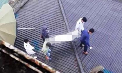 Tá hỏa phát hiện thi thể bệnh nhân trên mái nhà bệnh viện ở Nghệ An