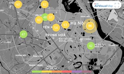 Chất lượng không khí ngày 12/1: Không khí lạnh về, Hà Nội có một ngày trong lành