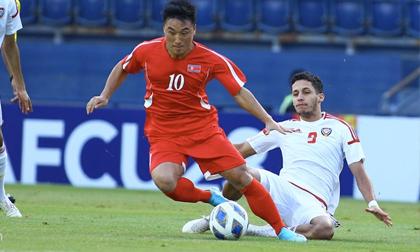 U23 Triều Tiên bị loại sau trận thua 0-2 trước UAE