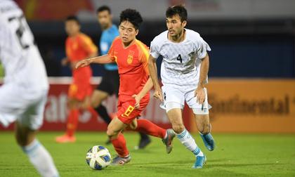 U23 Uzbekistan khiến Trung Quốc dừng bước sớm tại giải châu Á