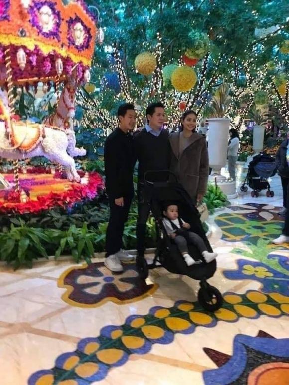 Phạm Hương và Bobby Phước Trần